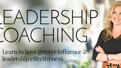 Leadership Coaching, Learn to have greater influence and leadership effectiveness